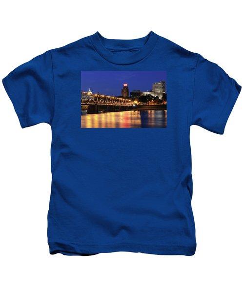 Walnut Street Bridge Kids T-Shirt