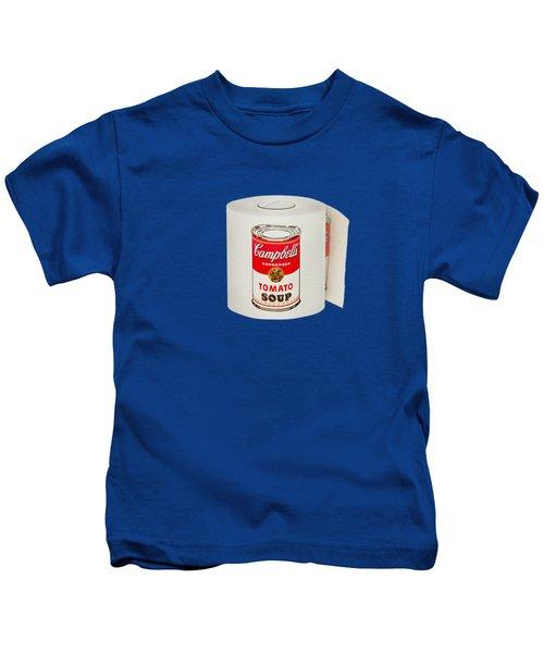 War Roll - Poop Art Kids T-Shirt