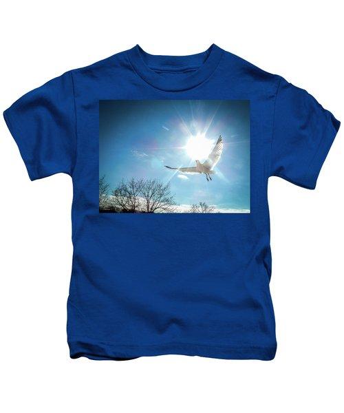 Warmed Wings Kids T-Shirt