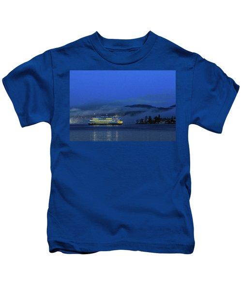 Washington State Ferry Hyak Kids T-Shirt