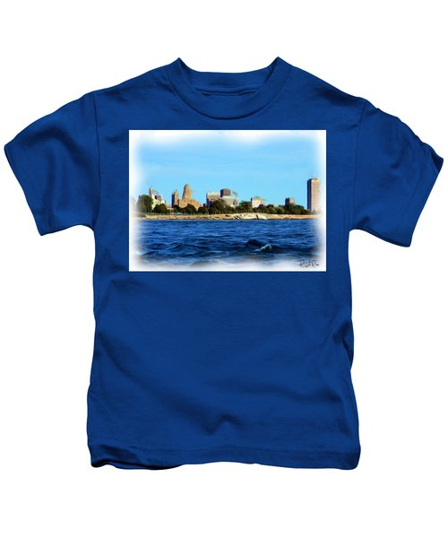 Waterfront Decay Four Kids T-Shirt