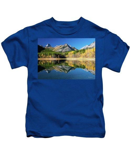 Wedge Pond Color Kids T-Shirt