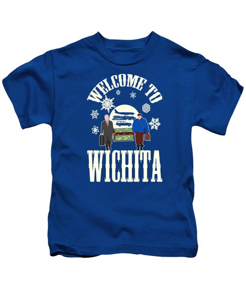 Welcome To Wichita  Kids T-Shirt