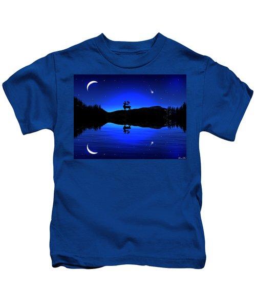 Wherever I May Roam Kids T-Shirt