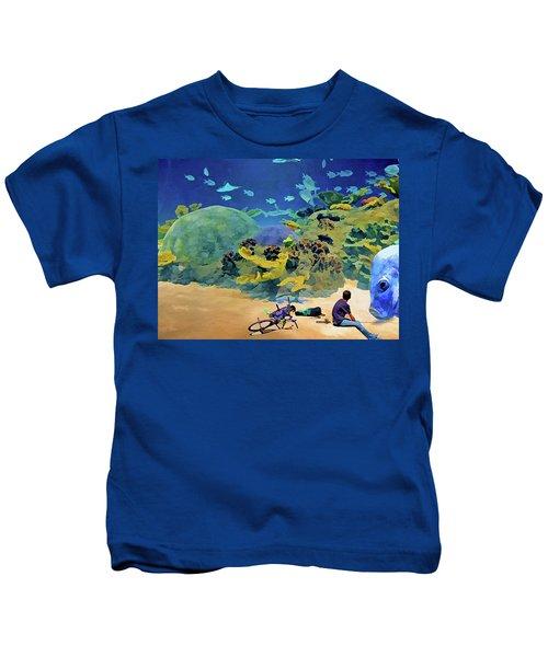 Who's Fishing? Kids T-Shirt