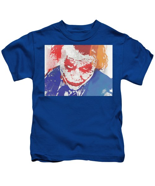 Why So Serious Kids T-Shirt by Dan Sproul