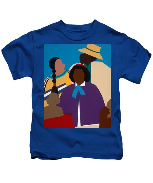 Wildfire A Tribute To Edmonia Lewis Kids T-Shirt