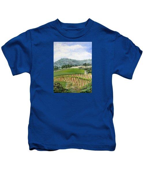 Wine Country Kids T-Shirt