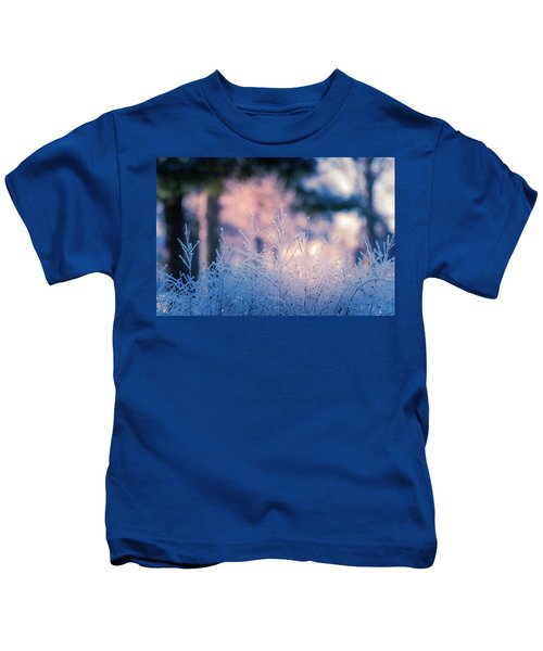 Winter Morning Light Kids T-Shirt
