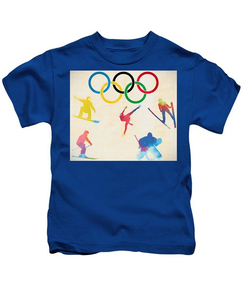 Winter Olympics Games Kids T-Shirt