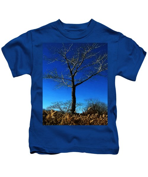 Winter Tree Kids T-Shirt