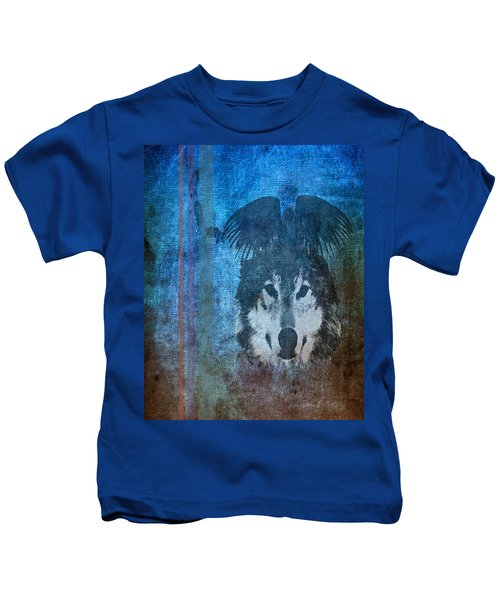 Wolf And Raven Kids T-Shirt