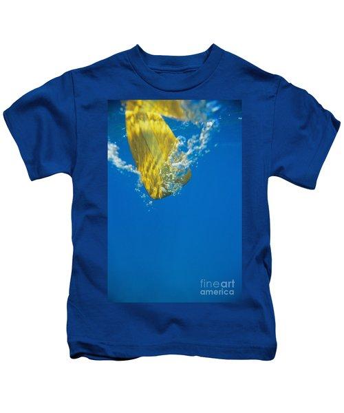 Wooden Paddle Underwater Kids T-Shirt