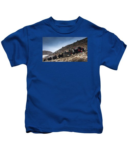 Yak Track Kids T-Shirt