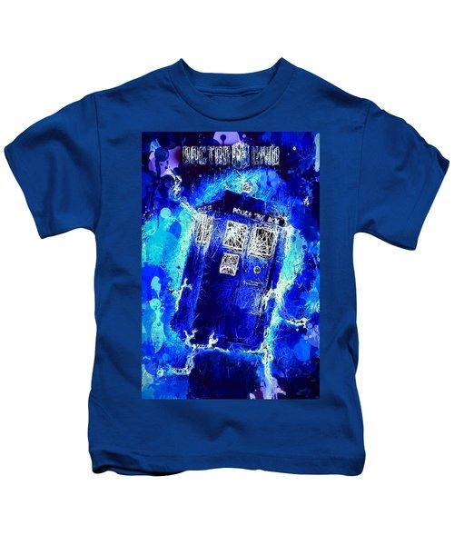 Doctor Who Tardis Kids T-Shirt