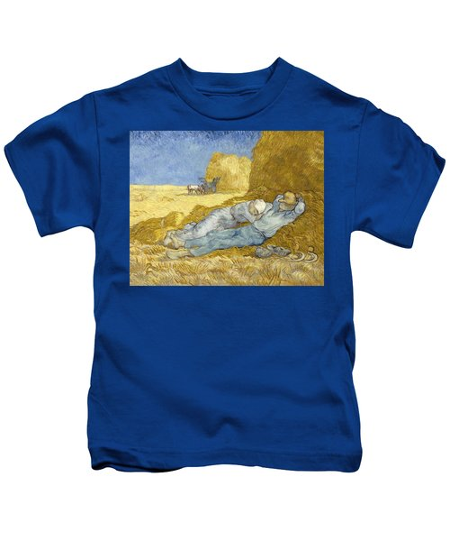 Noon - Rest From Work Kids T-Shirt