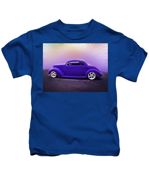 1937 Ford Coupe Kids T-Shirt