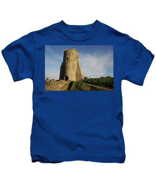 Aberystwyth. The Castle Gatehouse. Kids T-Shirt