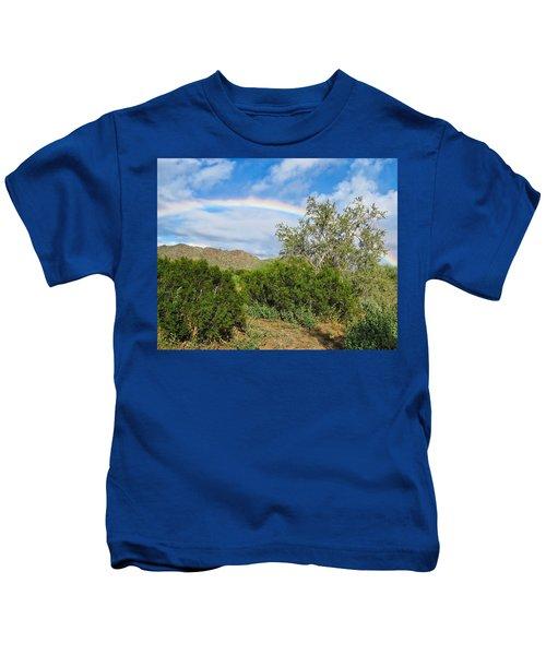After An Arizona Winter Rain Kids T-Shirt