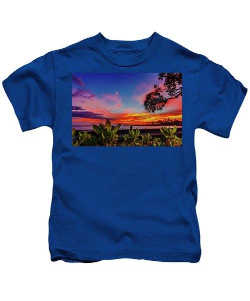 After Sunset Colors Kids T-Shirt