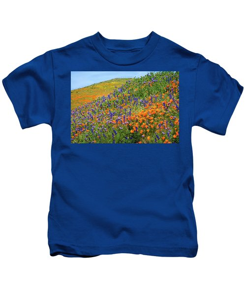 Amazing Colors Of The 2019 Wildflower Superbloom Kids T-Shirt