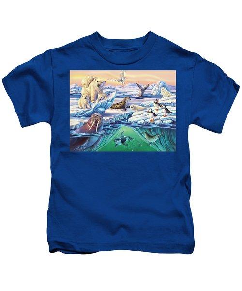 Arctic Animals Kids T-Shirt