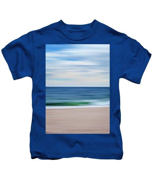 Beach Blur Kids T-Shirt