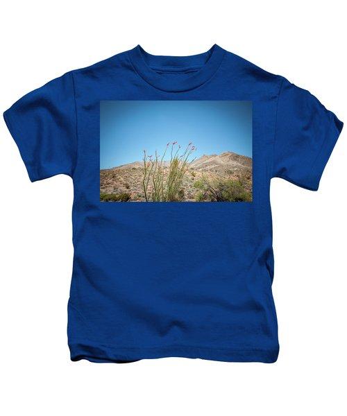 Blooming Ocotillo Kids T-Shirt
