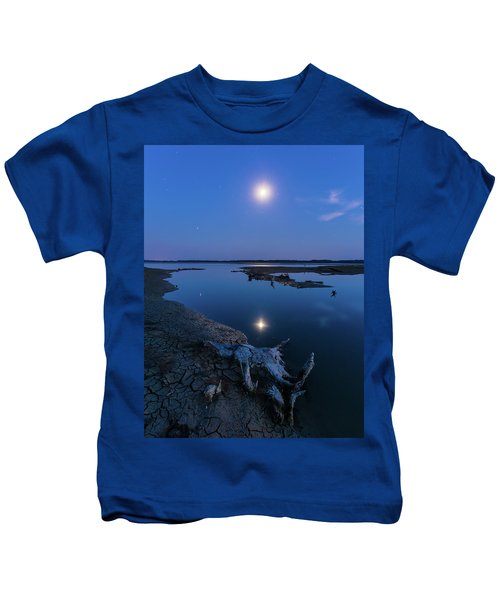 Blue Moonlight Kids T-Shirt