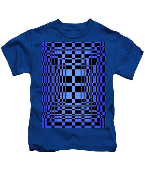 Brave Blue  Kids T-Shirt