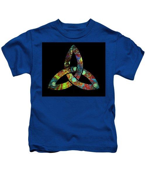 Celtic Triquetra Or Trinity Knot Symbol 1 Kids T-Shirt