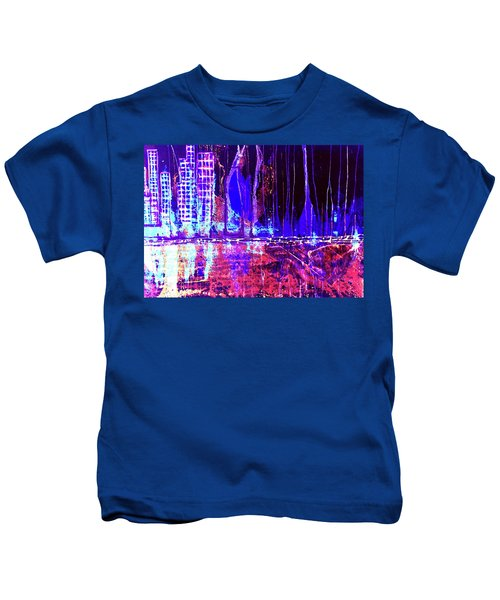 City By The Sea Right Kids T-Shirt
