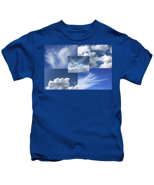 Cloud Collage Two Kids T-Shirt