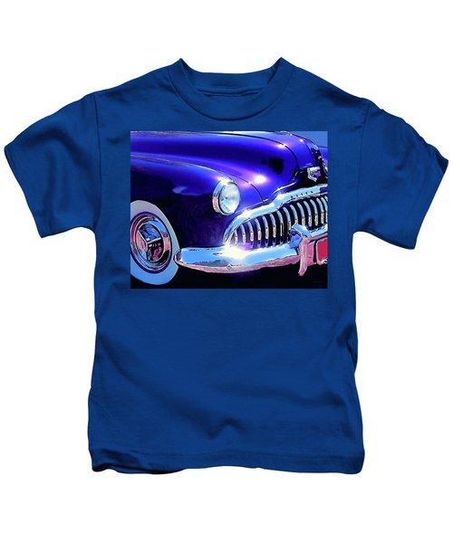 Custom 1949 Purple Buick Kids T-Shirt
