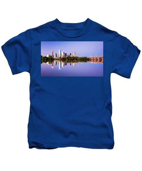 Dallas Texas Houston Street Bridge Kids T-Shirt