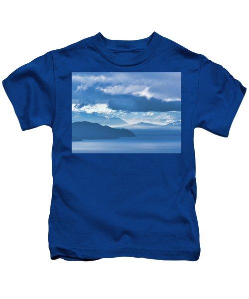 Dreamy Kind Of Blue Kids T-Shirt