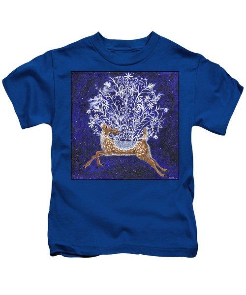 Fawn Bouquet Kids T-Shirt
