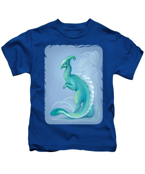 Feathered Dinosaur, Parasaurolophus Kids T-Shirt