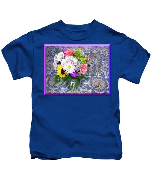 Flower Bouquet  Kids T-Shirt