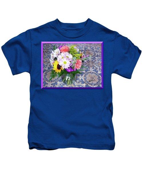 Flower Bouquet  Kids T-Shirt