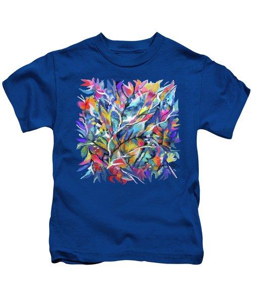 Flowered Vine Kids T-Shirt