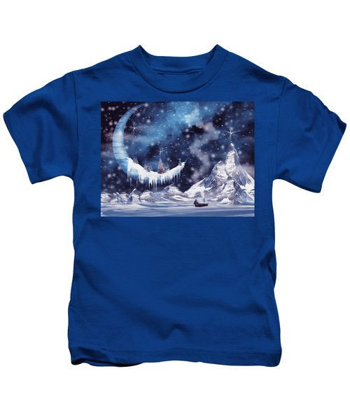Frozen Moon Kids T-Shirt
