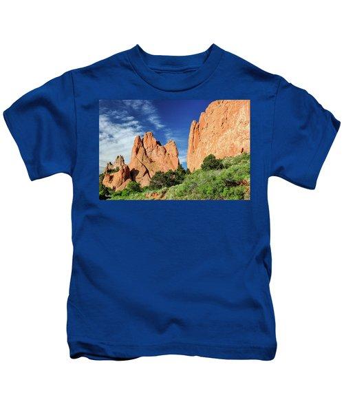 Garden Of The Gods Kids T-Shirt