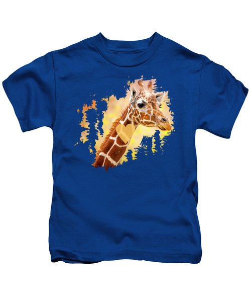 Giraffe, Animal Decor, Nursery Decor,  Kids T-Shirt