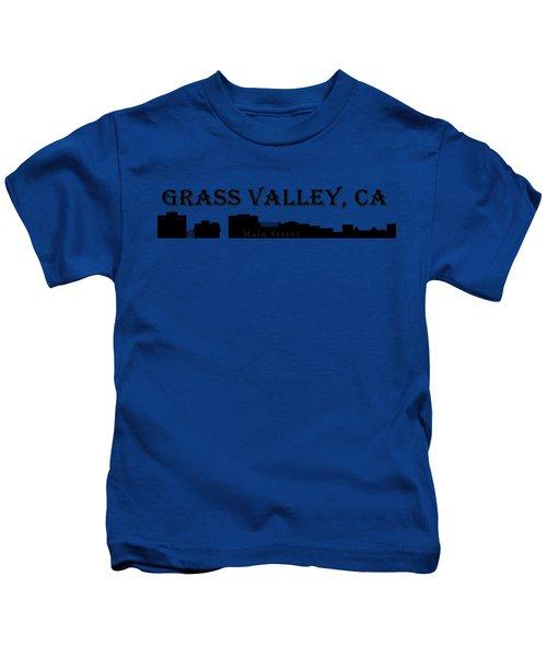 Grass Valley Skyline Kids T-Shirt