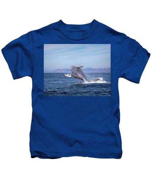 Humpback Breaching - 03 Kids T-Shirt