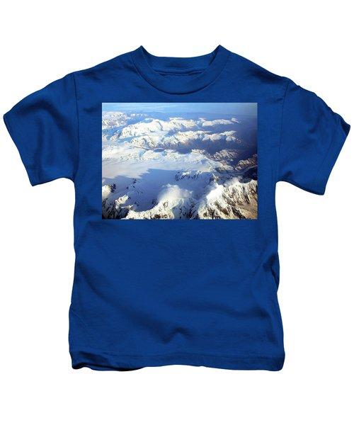 Icebound Mountains Kids T-Shirt