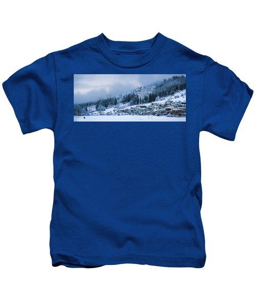 Koprivshtica Winter Panorama Kids T-Shirt