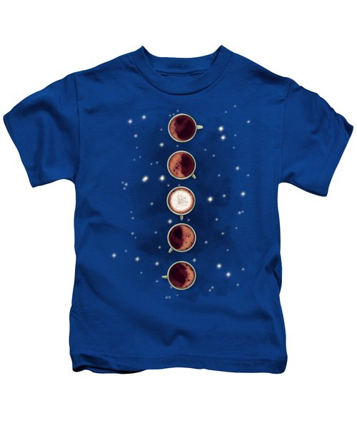 Lunar Coffee Kids T-Shirt