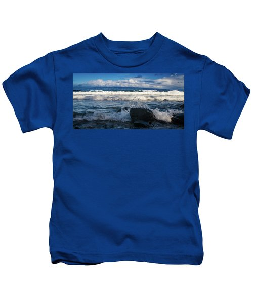 Maui Breakers Pano Kids T-Shirt